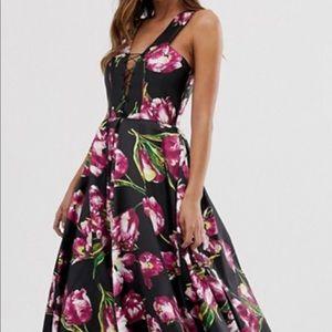 Jovani flower gown sz 2